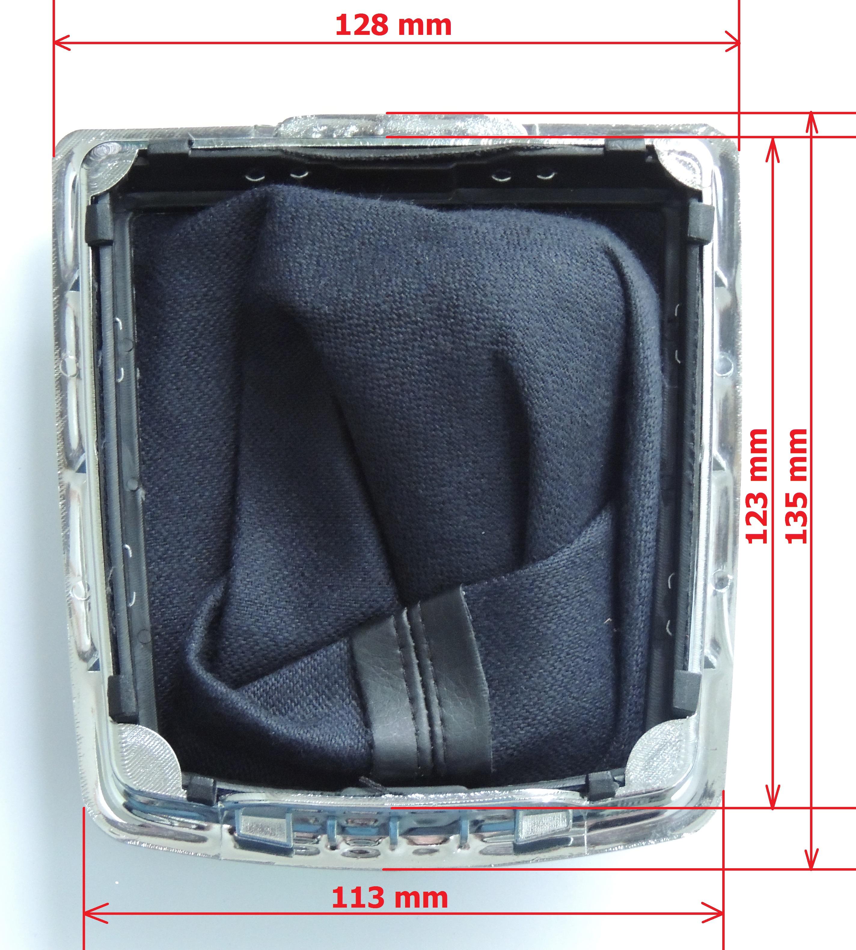 Manžeta radiacej páky s rámikom Ford Focus Mk2 (r.v. 2004-2011)