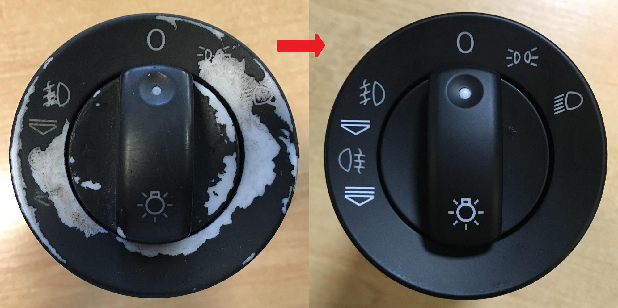 Krytky na opravu vypínača svetiel AUDI A4 B6 A4 B7