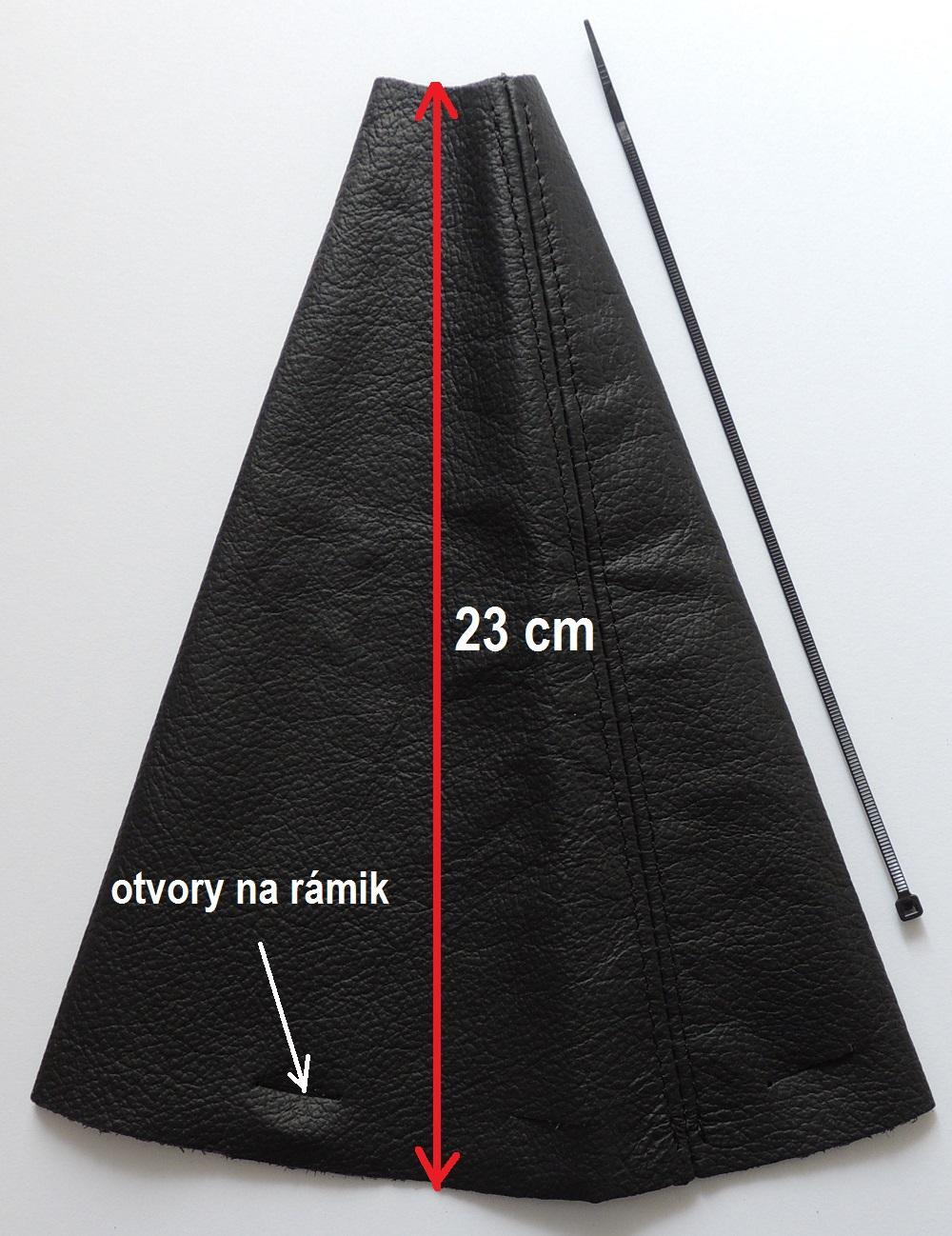 Kožená manžeta radiacej páky CITROEN XSARA PICASSO (r.v.1999-2010)  PRAVÁ KOŽA