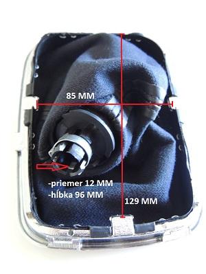 ME-Design Hlavica a radiaca páka VW Golf IV 4 MK4 Bora (r.v.1998-2005)