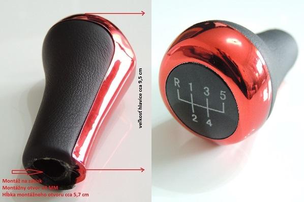 ME-Design Hlavica radiacej páky BMW E30 E32 E34 E36 E39 E46 E60 E61 E62
